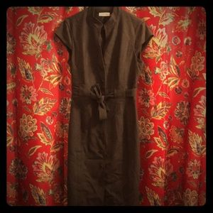 Calvin Klein button up dress